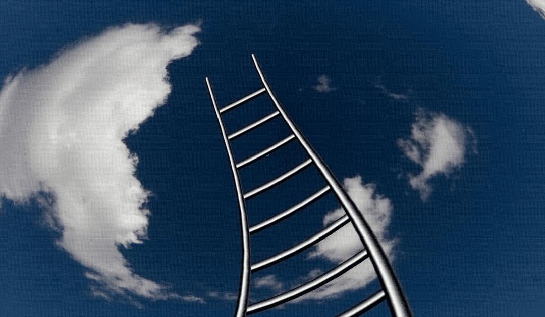 Kuvassa on kiemurtelevat tikkaat, jotka ulottuvat kohti taivasta valkoisine pilvineen. Kuva kuuluu Edumarin blogitekstiin otsikolla: Haastava potilas, oppilas tai asiakas – mitä tehdä?